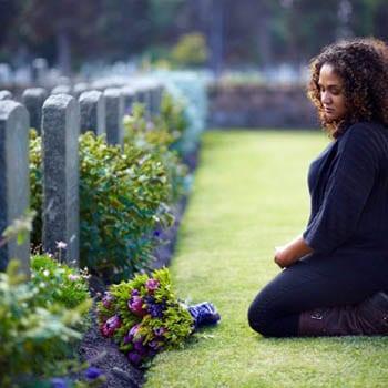 Probate following husband's death